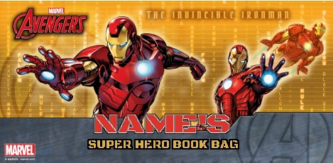 Iron Man Book Bag - Armoured Avenger  1aa8c4c7740df