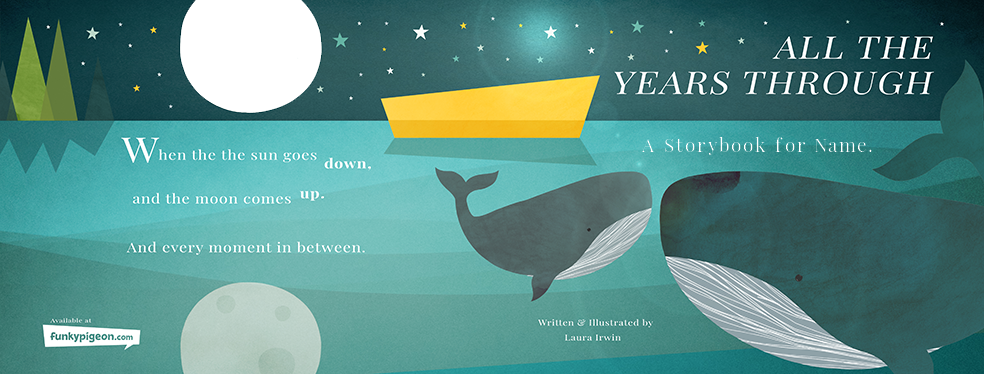 All The Years Through - Personalised Children's Story Book