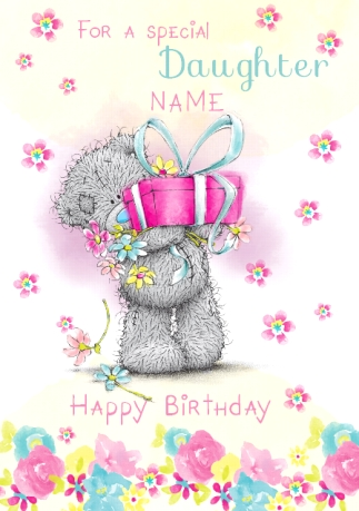 Me to you special daughter birthday card funky pigeon me to you special daughter birthday card bookmarktalkfo Images
