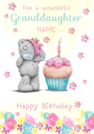 Me to you wonderful granddaughter birthday card funky pigeon me to you wonderful granddaughter birthday card bookmarktalkfo Gallery
