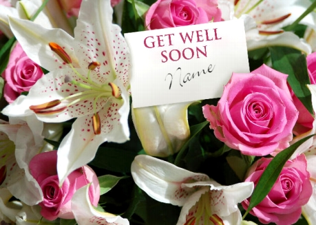 Colour Flowers Get Well Soon Picture