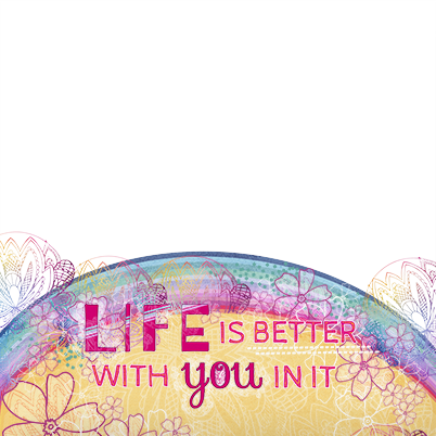 Life Is Better With You Photo Cushion