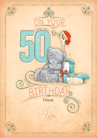 50th Birthday Cards Personalised Unique Funky Pigeon