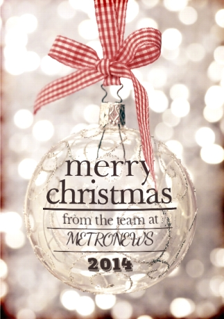 Glitter Bauble - Corporate Merry Christmas