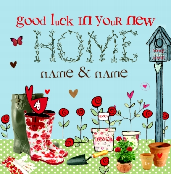 New home cards fast delivery funky pigeon cupcakes wellies new home m4hsunfo