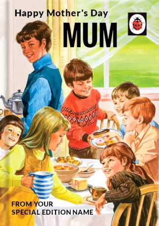 Happy Mother's Day Personalised Ladybird Book Card