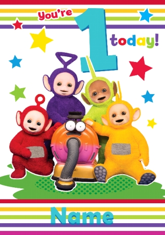 Kids Birthday Cards Teletubbies Cards Funky Pigeon