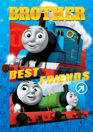 Thomas The Tank Engine Birthday Card Brother Best