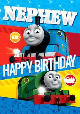 Birthday cards for nephew funky pigeon thomas the tank engine birthday card nephew shortlist this thomas the tank engine birthday card nephew bookmarktalkfo Image collections
