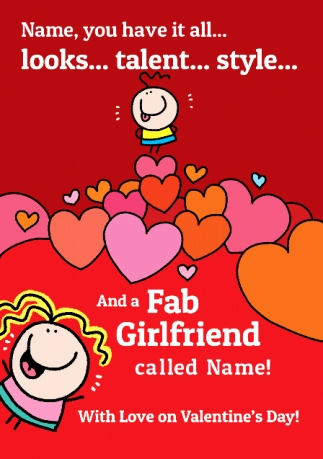 You have it all personalised valentines card funky pigeon you have it all personalised valentines card m4hsunfo
