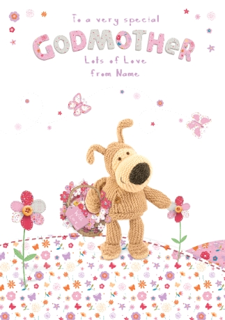 Boofle Godmother Card