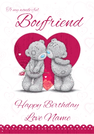 Me to you boyfriend birthday love funky pigeon me to you boyfriend birthday love bookmarktalkfo Image collections