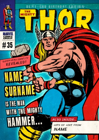 Thor birthday cards official funky pigeon preview image is not found bookmarktalkfo Image collections