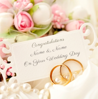 Congratulations On Your Wedding Day.Paper Rose Wedding Card Photographic On Your Wedding Day Funky