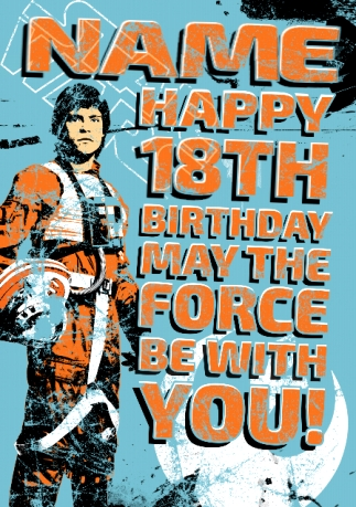 Official Star Wars Birthday Cards Funky Pigeon