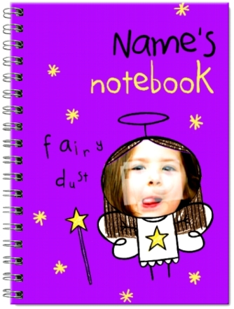Little'Uns Christmas Angel Notebook